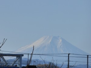 Mt. Fuji from my house